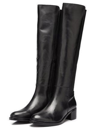 Демисезонные сапоги из натуральной кожи bianco дания) # кожаные сапоги р.36, 37, 38, 39