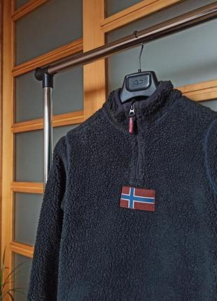 Napapijri sherpa fleece кофта флис