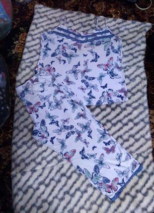 Женская трикотажная пижама tu