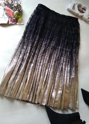 Трендовая юбка потссе гипюр topshop