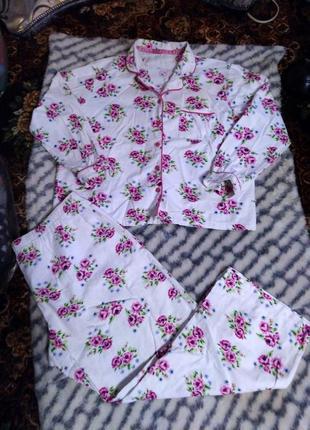 Женская фланелевая пижама george