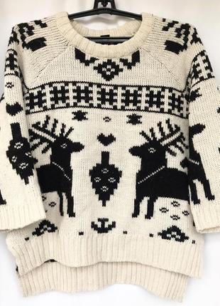Зимний свитер h&m