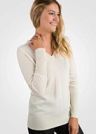 Tally weijl ! изысканный нарядный тонкий свитер с золотым краплением 100% котон