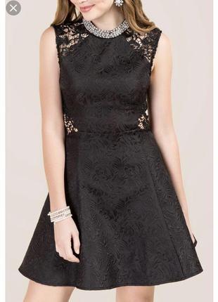Чёрное платье francesca's