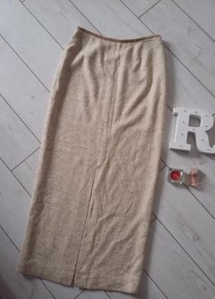 Kaliko  silk изумительная длинная юбка костюмная ткань..# 424