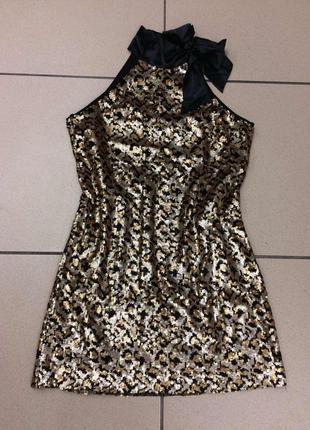 Яркое платье в паетки итальянского бренда rinascimento (94)