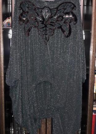 Шикарный костюм люрикс 48-66рр