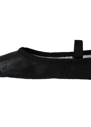 Балетки спортивные для гимнастики dancing daisy boys or girls black leather ballet shoes