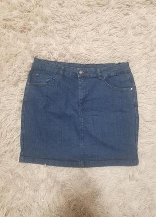 Джинсовая юбка тм boutique