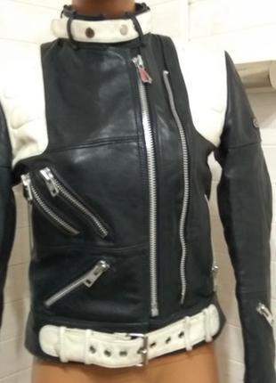 Стильная женская мотокуртка косуха hein gericke