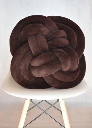 Шоколадная подушечка плоская 40х40 см
