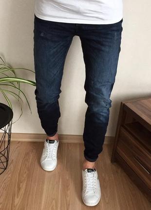 Мужские зауженные джинсы jack&jones