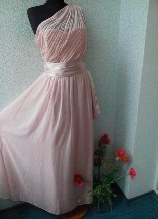 Новое шифоновое платье в пол dorothy perkins