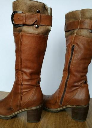 Зимові шкіряні чоботи manas design