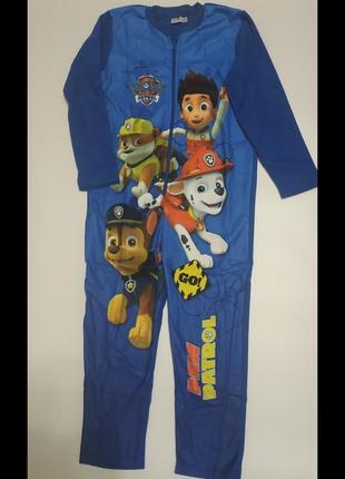 Флисовая пижама для мальчика nickelodeon 122- 128.