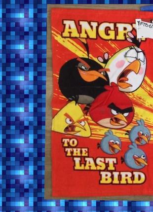 Полотенце злые птицы дисней 35×65см яркие и красивые