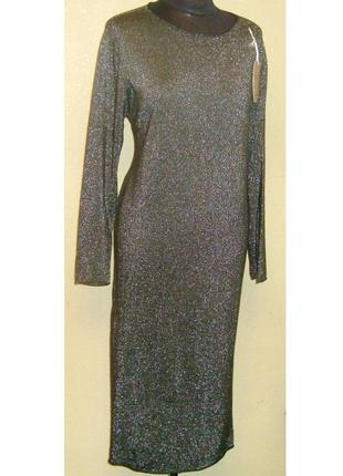 Шикарное , нарядное платье, minoriti , р. 46 - 50 на новогодние праздники !