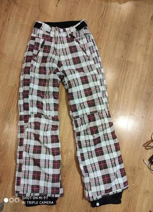 Лыжные штаны nkd 152-158 размер германия