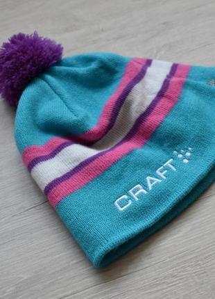 Теплая спортивная шапка craft