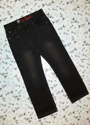 🌿1+1=3 фирменные плотные олдскул прямые джинсы pierre cardin, размер 44 - 46