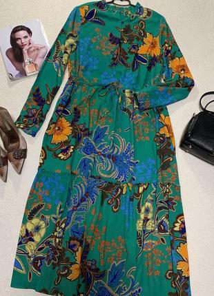 Стильное яркое платье, размер xxl