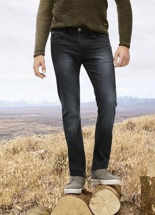 Мужские хлопковые джинсы livergy straight fit евро 48 (33/34)