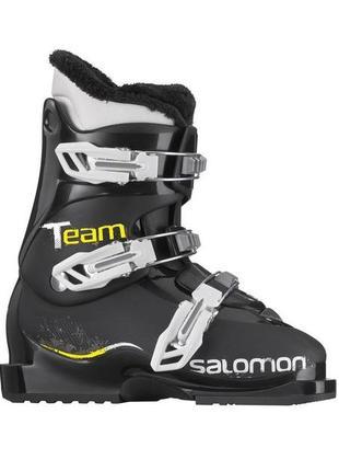 Горнолыжные детские ботинки salomon team t3 размер 36 лижні боти