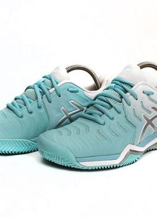Теннисные кроссовки asics gel-resolution 7. размер 38