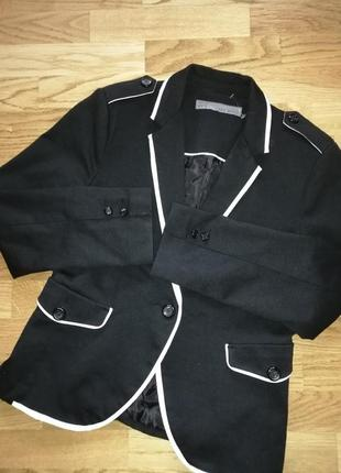 Пиджак zara basic размер m-xl