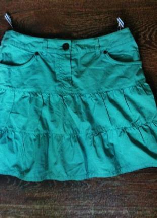Бирюзовая юбка tm oasis p. s,