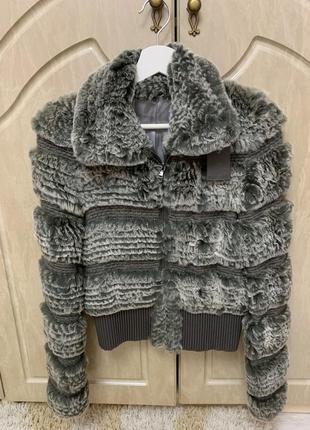 Куртка меховая кролик рекс