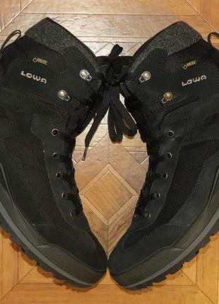Зимние ботинки lowa isarco ecco gore-tex(оригинал)р.44.5