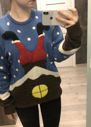 Новогодний свитер. рождественский свитер / merry christmas / cedarwood state