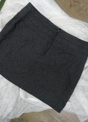 Теплая юбка h&m, размер м