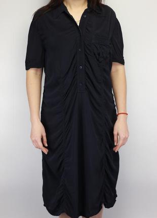 Итальянское шёлковое платье люкс бренда по типу valentino