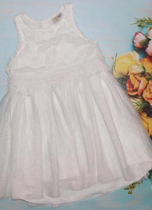 Великолепное платье naxt на 5-6л