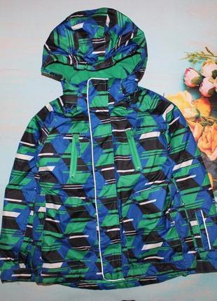 Теплая лыжная термо куртка xmail на 6-7л