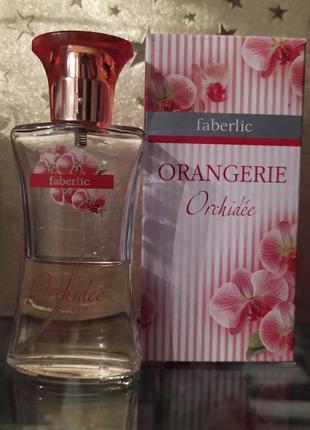 Faberlic orangerie orchidee