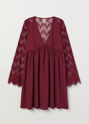 Оригинальное платье от h&m