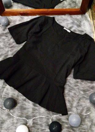 Блуза топ кофточка с баской marks & spenser