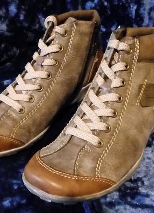 Ботинки rieker (германия) antistress осень-зима