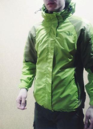 Куртка 2 в 1. зимняя куртка с подкладом. курточка утепленная. мужская куртка. зимняя