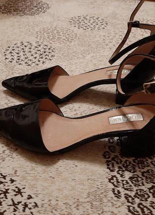 Туфли женские лаковые topshop р. 39