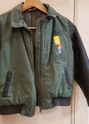 Крутая куртка на рост 122-128 см