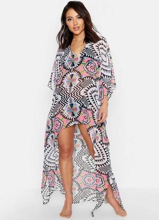 Boohoo.пляжное платье оверсайз 46-50 новое.