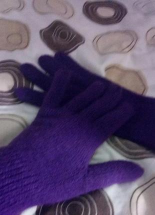 Шарфик с перчатками