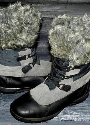 Timberland blizzard ! оригинальные, кожаные, теплые невероятно крутые сапоги