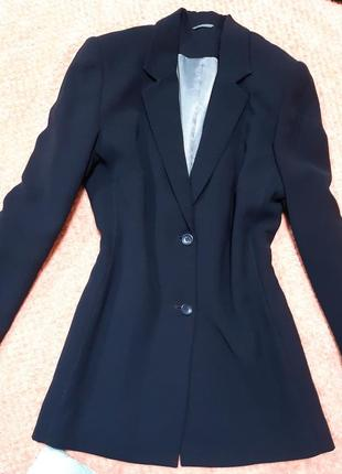 Удлиненный жакет, платье-пиджак