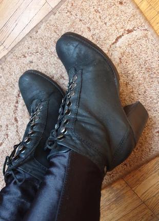 Стильные удобные ботинки боты ботильоны деми