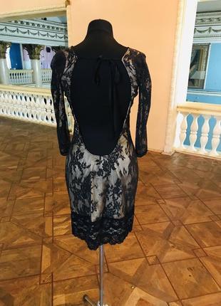 Очень эффектное платье с открытой спиной. вечернее платье